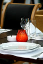 Dinner Place Setting Royalty Free Stock Photo