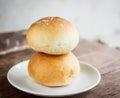 Dinner rolls or butter bun Stock Image