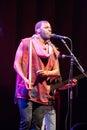 Dino d santiago cape verde praia apr performs at the kriol jazz festival in april in praia Stock Photos