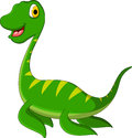 Dinosaur cartoon vector illustration of Stock Photography
