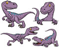 Dinosaur Cartoon Royalty Free Stock Photo