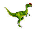 Dinosaur:dilophosaurus Royalty Free Stock Photo
