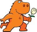 Dinosaur Flower Stock Image
