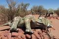 Dinosaur models Royalty Free Stock Photo
