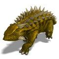 Dinosaur Talarurus Royalty Free Stock Photo