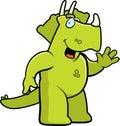 Dinosaur Waving Royalty Free Stock Images