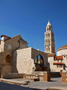 Diocletian palace in Split 1 Royalty Free Stock Image