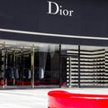 Dior shop in Singapores ION Shopping Centre Stock Image