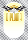 Diploma for the winner of championship Royalty Free Stock Photo