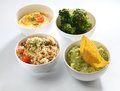 Dips bowls Royalty Free Stock Photo