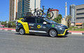 Direct Energie Team Car Royalty Free Stock Photo