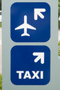 Directional Signs Stock Photo