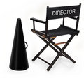 The director Royalty Free Stock Photo