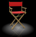Director chair Stock Photography