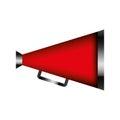 Director cinema megaphone icon