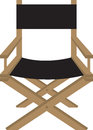 Directors chair isolated director or actors Stock Photography