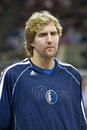 Dirk Nowitzki of Mavericks Royalty Free Stock Photography