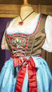 Dirndl part of a typical bavarian Royalty Free Stock Photography