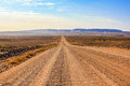Gravel road Royalty Free Stock Photo