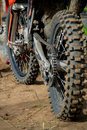 Dirtbikes Photo libre de droits