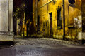 Dirty alley Royalty Free Stock Photo