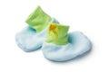 Dirty baby socks Royalty Free Stock Photo