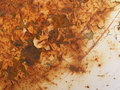 Dirty background rusty texture on a metal Royalty Free Stock Image