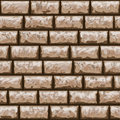 Dirty brick wall seamless pattern vector illustration of Royalty Free Stock Photo