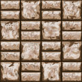 Dirty brick wall seamless pattern vector illustration of Stock Image