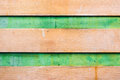 Dirty brown green wood background texture Stock Image