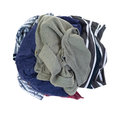 Dirty clothes Stock Photos