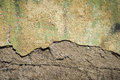 Dirty cracked concrete old wall Royalty Free Stock Photo