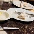 Dirty empty plates