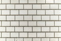 dirty and grainy white grey tile city wall Royalty Free Stock Photo