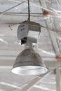 Dirty industrial lamp, High Bay Lighting.