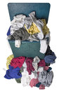 Dirty Laundry in Hamper Royalty Free Stock Photo