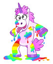 Dirty rainbow unicorn