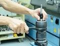 Dis-assembly zero set measuring tool Stock Photography