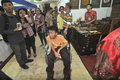 Disability expo in indonesia people with disabilities who exhibit their business products at the surakarta central java according Stock Photo