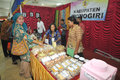 Disability expo in indonesia people with disabilities who exhibit their business products at the surakarta central java according Royalty Free Stock Images