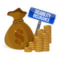 Disability insurance Royalty Free Stock Photo