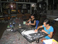 Disabled children making mosaics hai duong vietnam july at hong ngoc art base on july in hai duong vietnam Stock Photos