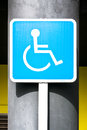 Disabled sign Stock Images