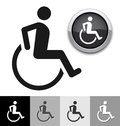 Disabled symbol Stock Image