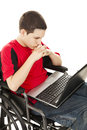 Disabled Teen Boy Online Stock Images