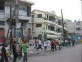 The disaster of haiti Royalty Free Stock Photo