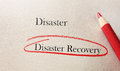 Disaster recovery Royalty Free Stock Photo