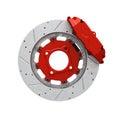 Disc brake Royalty Free Stock Photo