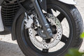 Disc brake motorcycle Royalty Free Stock Photo