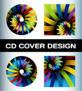 Disc cover design Stock Image